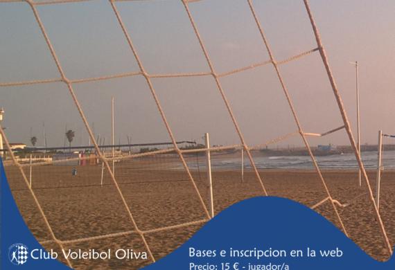 Cartel torneo Voley Playa cuarta prueba Invierno FVBCV